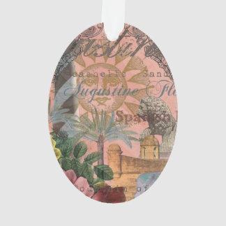 Collage del vintage de St Augustine la Florida