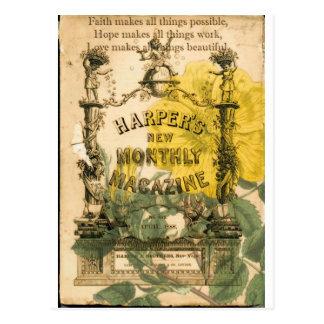Collage del vintage postal