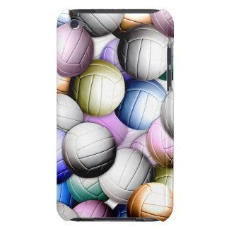 Collage del voleibol barely there iPod coberturas