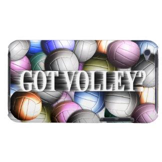 Collage del voleibol cubierta para iPod de barely there