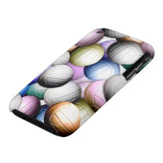 Collage del voleibol funda bareyly there para iPhone 3 de Case-Mate