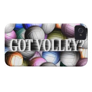 Collage del voleibol funda para iPhone 4