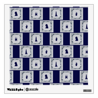 Collage Delft blue tiles Wall Decal