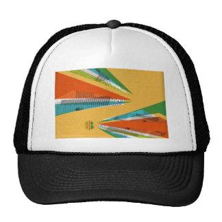 Collage Design Trucker Hats