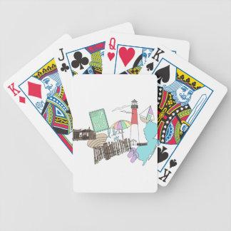 Collage en colores pastel del amor de LBI Cartas De Juego