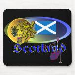 Collage escocés tapetes de ratón