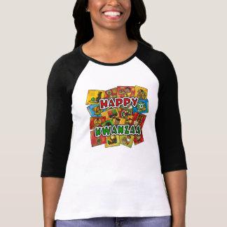 Collage feliz de Kwanzaa Camisetas