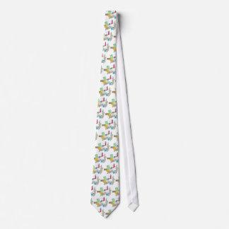 Collage femenino del amor de LBI Corbata Personalizada