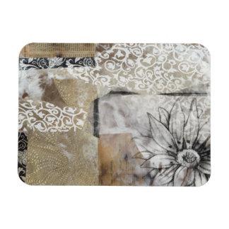 Collage Fleur II Magnet