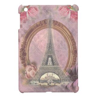 Collage floral del rosa elegante lamentable de la