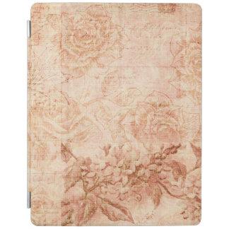 Collage floral del vintage cubierta de iPad
