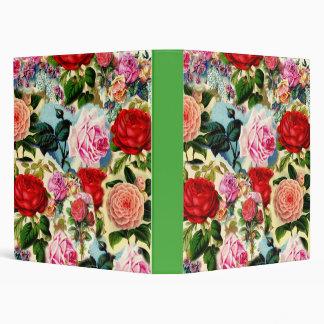 """Collage floral elegante bonito de la rosaleda del carpeta 1"""""""