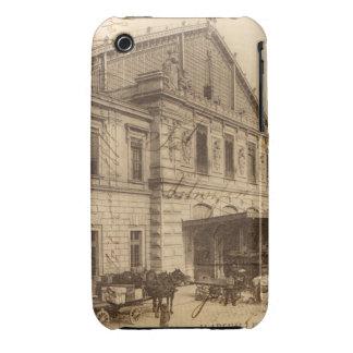 Collage francés de Marsella de la postal del Case-Mate iPhone 3 Coberturas