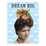 Collage grande ideal de la foto del vintage tarjeta postal