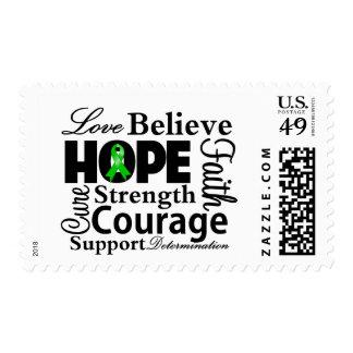 Collage hepático del cáncer de la esperanza franqueo