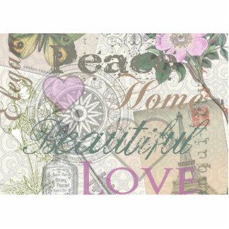 Collage hermoso del diseñador del amor del hogar d