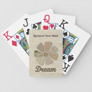Collage ideal de la inspiración barajas de cartas