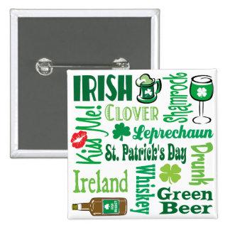 Collage irlandés pins