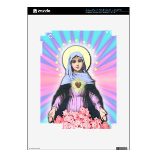 Collage Lady Mary - Gloria Sánchez Decal For iPad 3