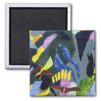 Collage Landscape #10 Fridge Magnets