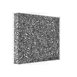 Collage linear de la precipitación impresión en lona