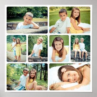 Collage listo de la foto póster