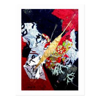 Collage loco, artista Andrea Erickson Tarjeta Postal