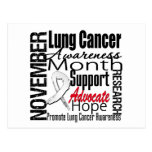 Collage - Lung Cancer Awareness Month Postcard