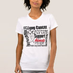 Collage - Lung Cancer Awareness Month T-shirts