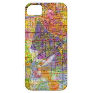 Collage Map Southern Illinois Suburbs iPhone SE/5/5s Case