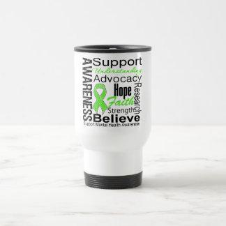 Collage - Mental Health Awareness 15 Oz Stainless Steel Travel Mug