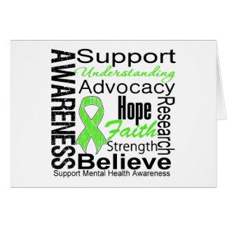 Collage - Mental Health Awareness Card