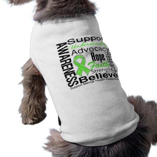 Collage - Mental Health Awareness Doggie Tee Shirt