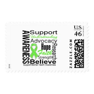 Collage - Mental Health Awareness Stamp