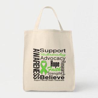 Collage - Mental Health Awareness Tote Bag