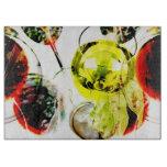 Collage moderno de la foto de la copa de vino roja