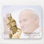 Collage Mousepad de Juan Pablo II Tapetes De Ratón