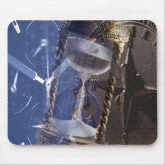 Collage Mousepad del reloj Alfombrilla De Ratones