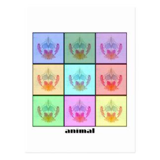Collage ocho de Rors titulado Tarjeta Postal