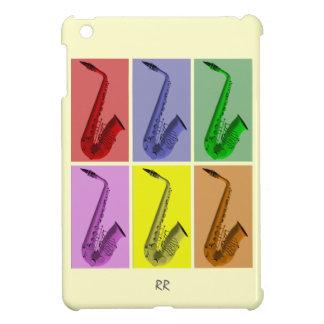 Collage of Colorful Saxophones iPad Mini Case