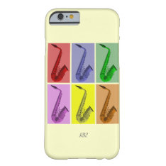 Collage Of Colorful Saxophones Iphone 6 Case at Zazzle