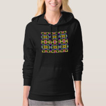 Collage of Colors Hoodie