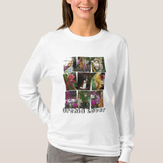 Collage of Orchids, Orchid Lover Tshirt