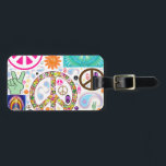 """Collage of Peace Luggage Tag<br><div class=""""desc"""">One can never have too many peace symbols.</div>"""