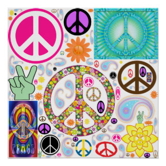 Collage of Peace Poster