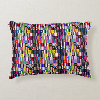 Collage of Pride Flags Accent Pillow