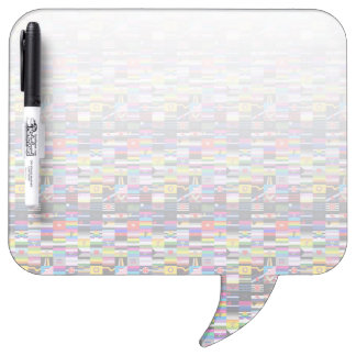 Collage of Pride Flags Dry-Erase Boards