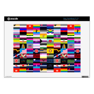 Collage of Pride Flags Skin For Acer Chromebook