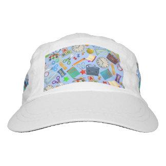 Collage of School Supplies Hat