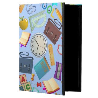 Collage of School Supplies iPad Air Case